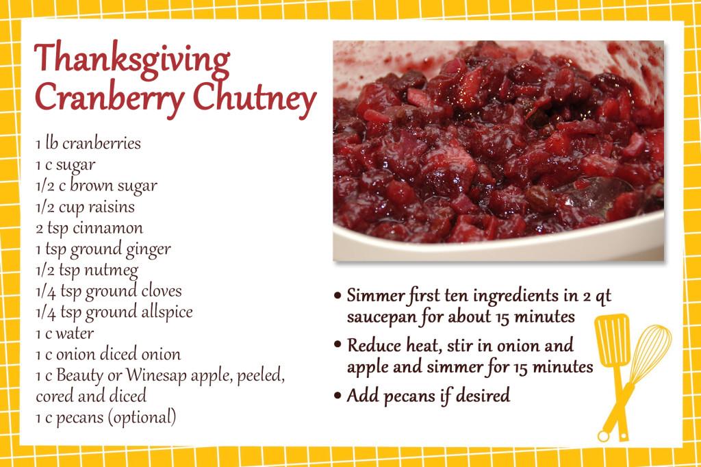 Recipe_CranberryChutney